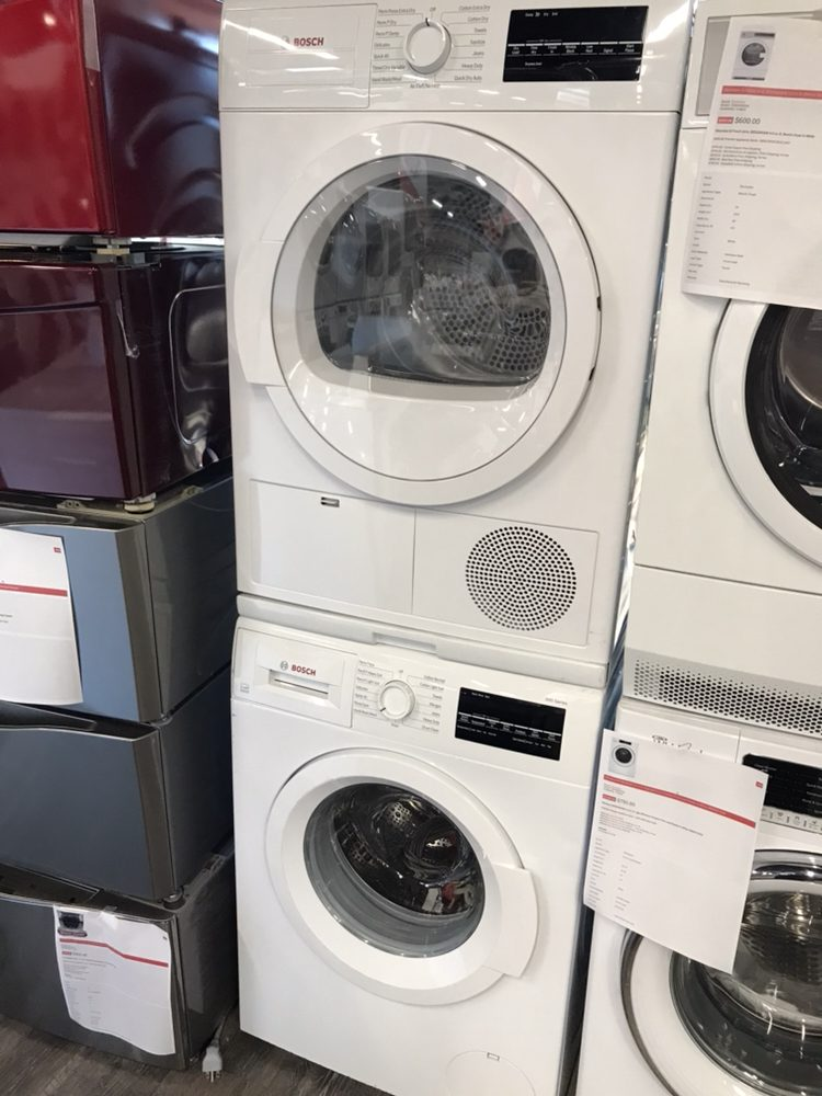Bosch Compact Washer And Dryer Set Premier Appliance Store
