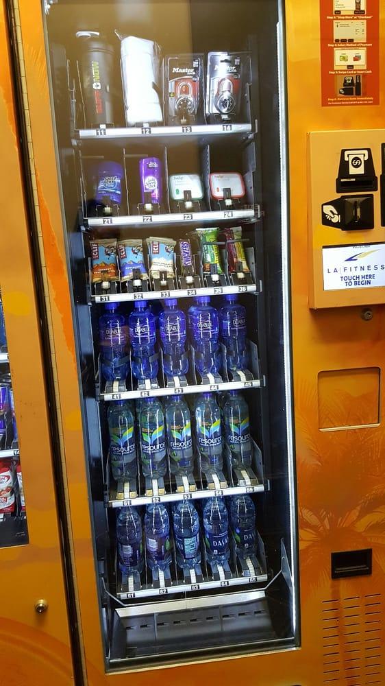 los angeles vending machine