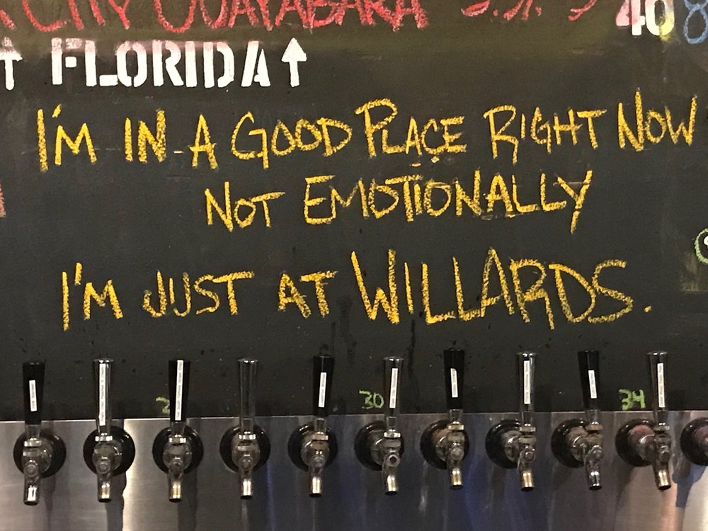 Willard's Tap House: 12500 Starkey Rd, Largo, FL