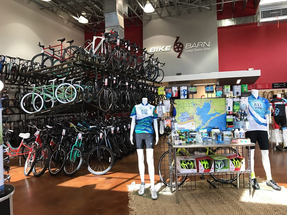 Bike Barn: 2307 Texas Ave S, College Station, TX