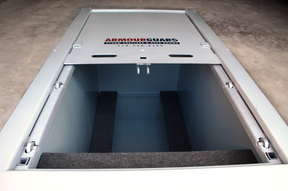 Armourguard Steelguard Ig 3 X 6 Storm Shelter Installed