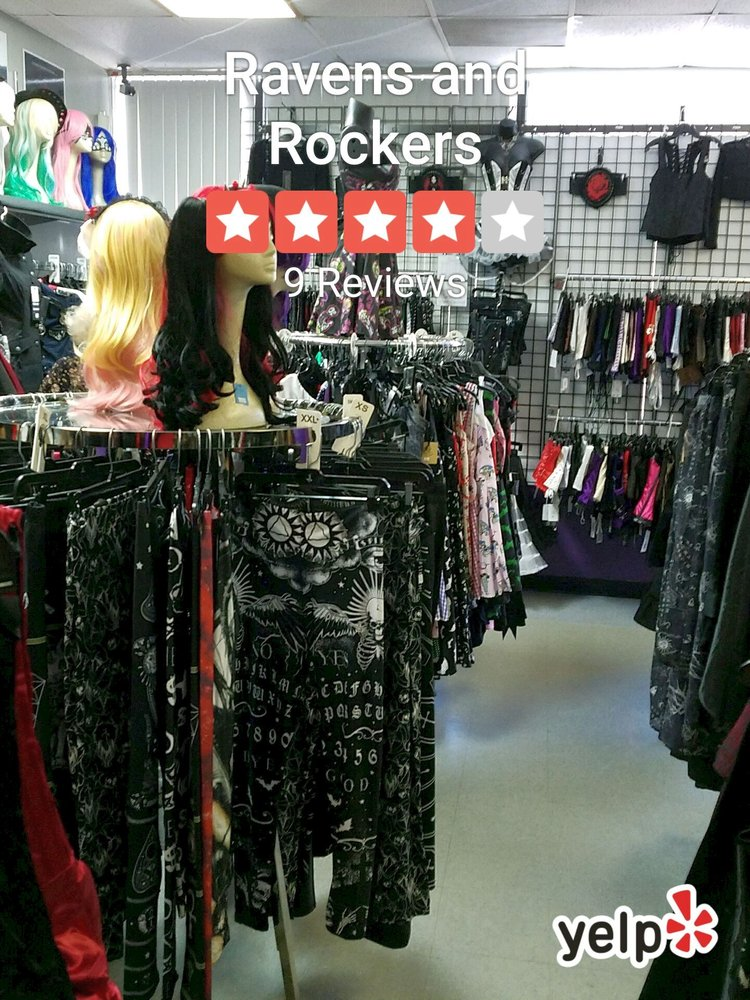 Ravens and Rockers: 14815 N Florida Ave, Tampa, FL