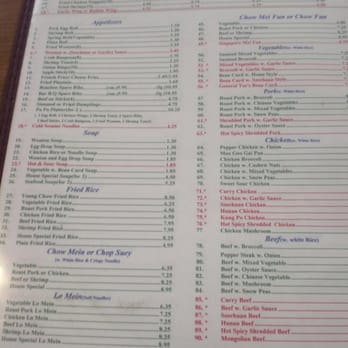 Hop Hing Chinese Restaurant - Order Food Online - Chinese - 134 W ...