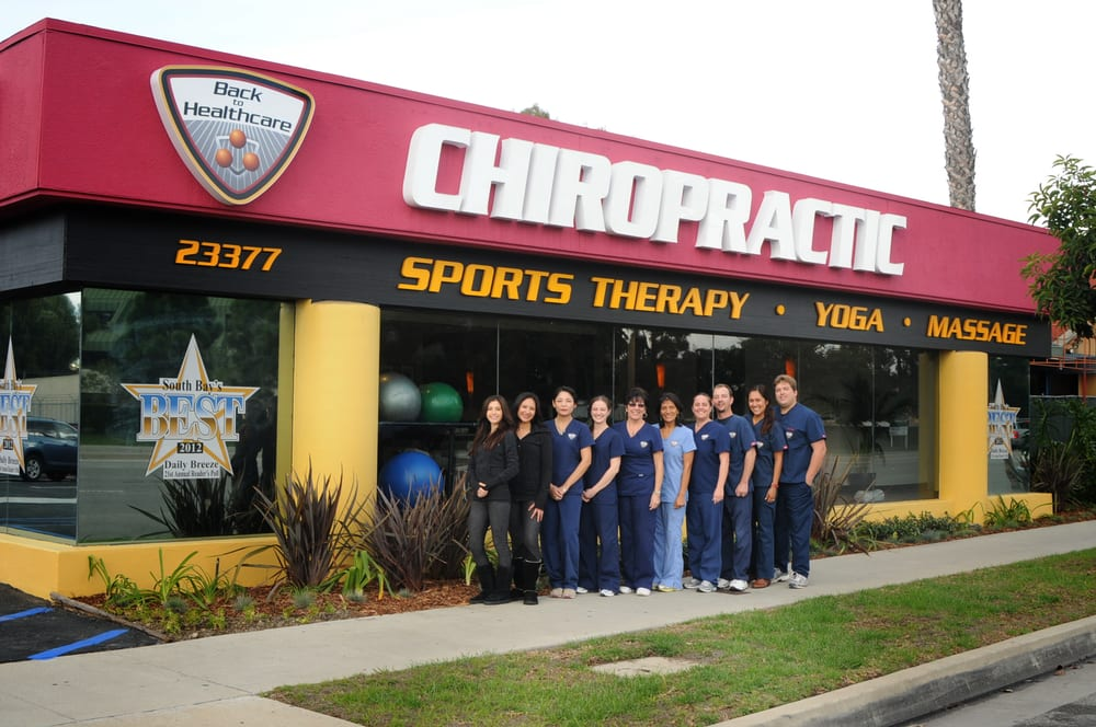 Back to Healthcare Chiropractic