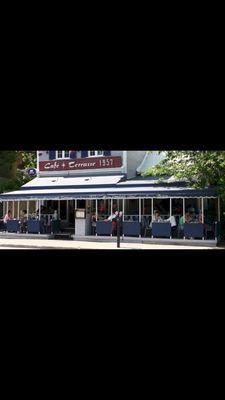Cafe Terrasse 1957