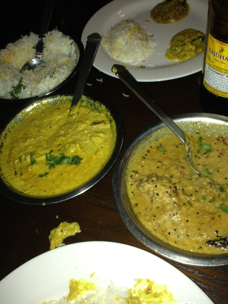 Crab curry and coco lamb curry yelp for Akbar cuisine of india pasadena ca