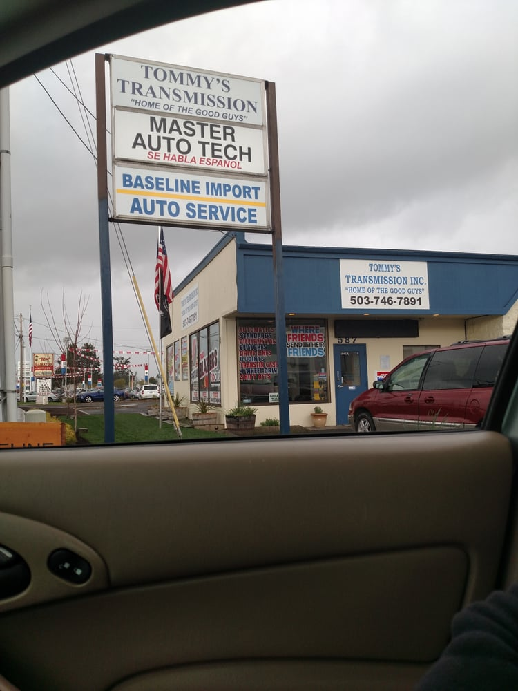 Tommy's Transmission Inc.: 912 N Freemont Ln, coenelius, OR