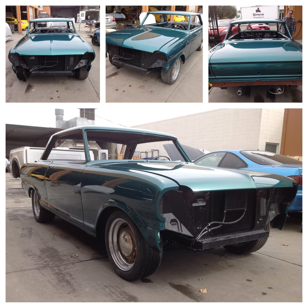 All Chevy 64 chevy ii : 64 Chevy II Nova fresh out of the pain booth - Yelp