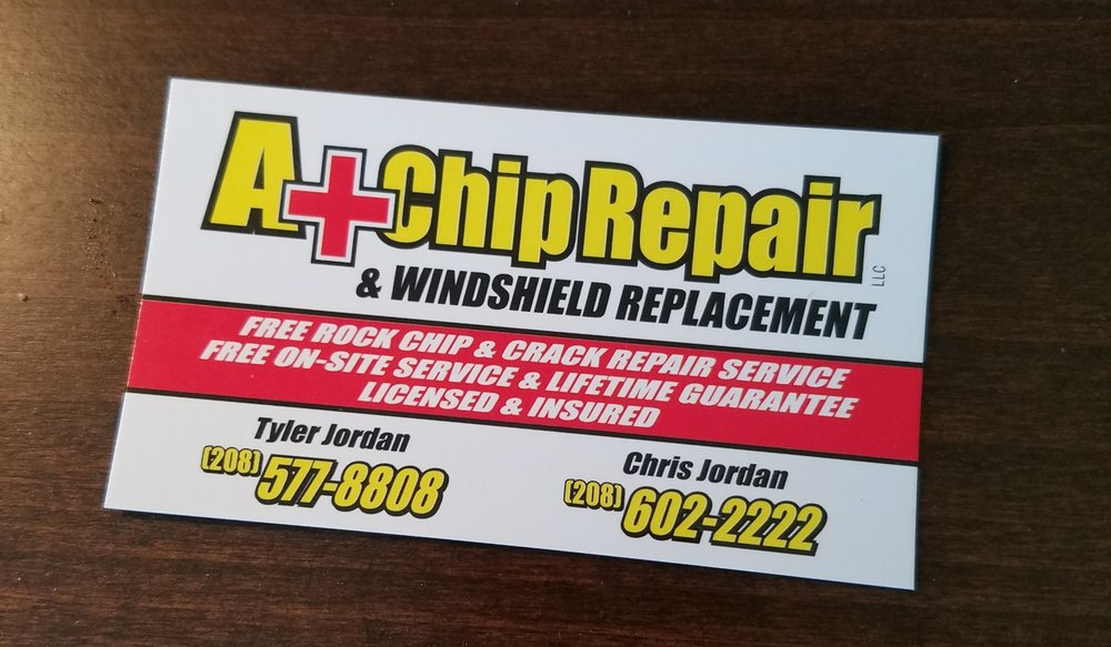 A+ Chip Repair & Windshield Replacement: 2780 W Higan St, Meridian, ID