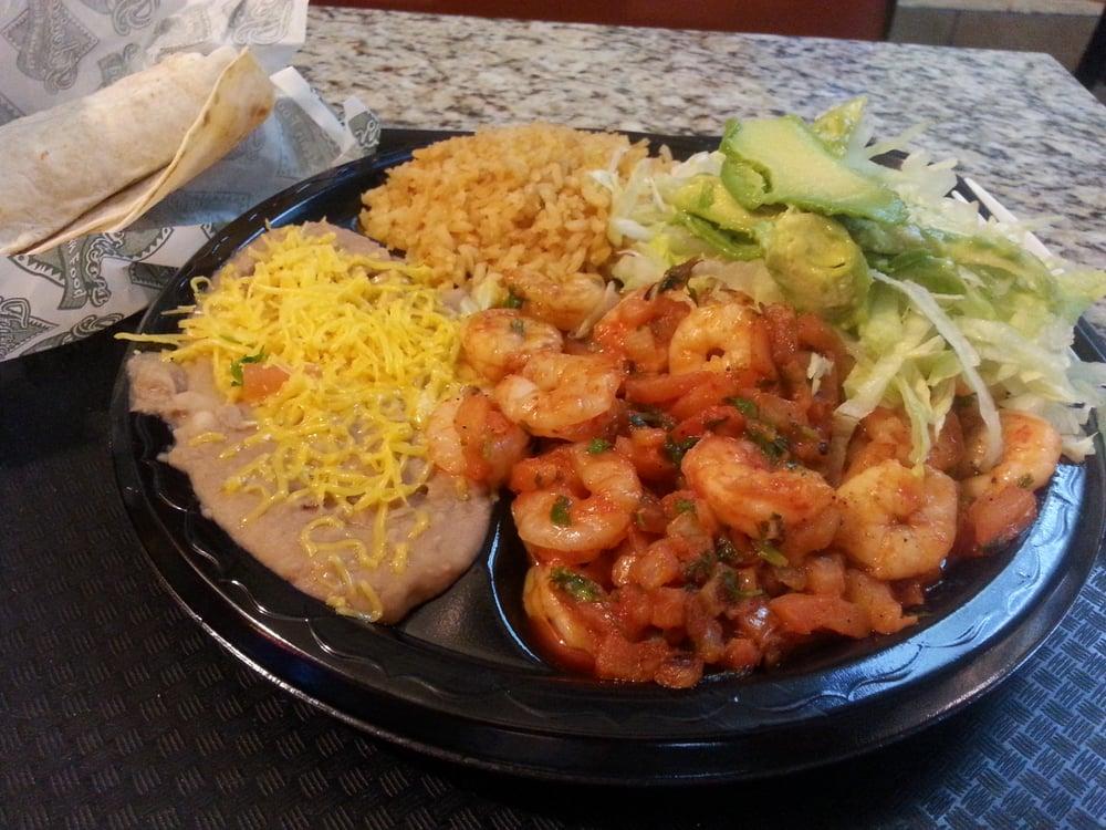 Photo of Federico\u0027s Mexican Food - Phoenix AZ United States. Camaron Ranchero. & Camaron Ranchero. Thats a big plate of food. Less than $9. - Yelp