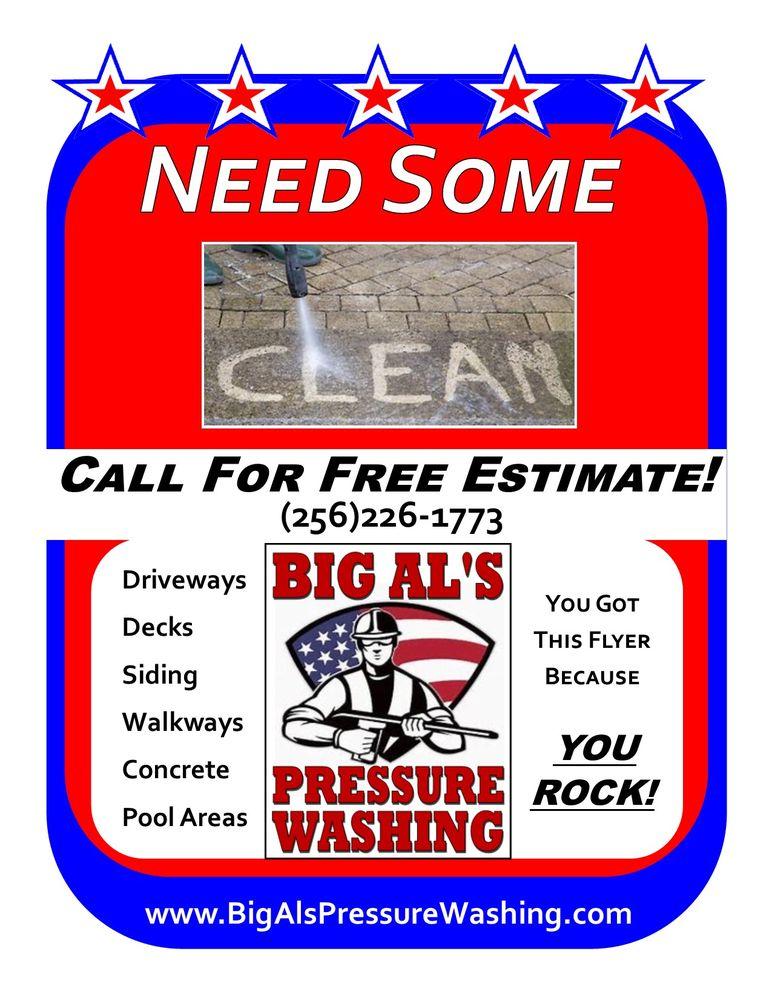 Big Al's Pressure Washing: Huntsville, AL