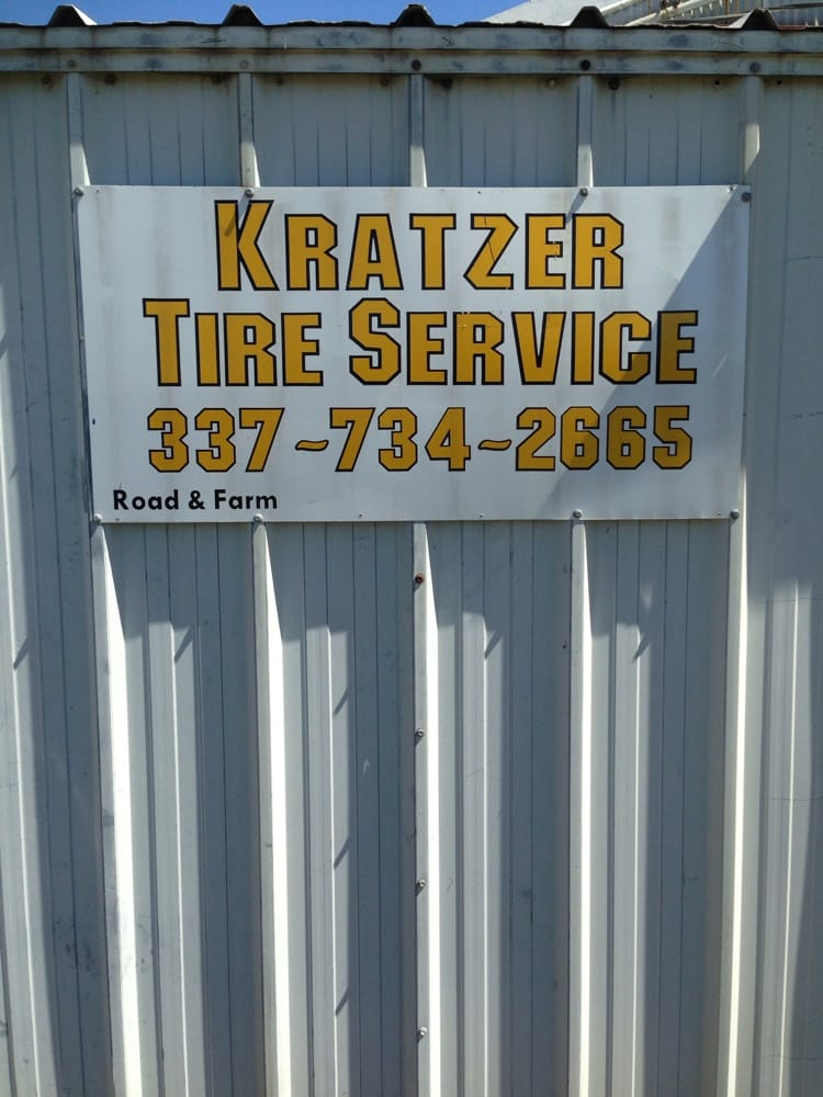 Kratzer's Tire Service: 108 Palmer St, Welsh, LA