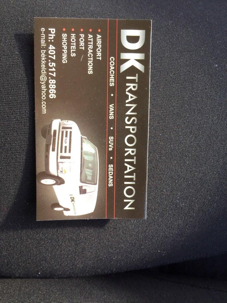 DK Transportation: Orlando, FL
