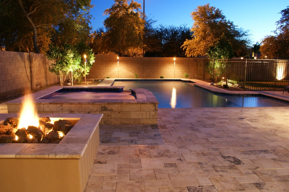 Arizona Traditional Designed Swimming Pool And Spa