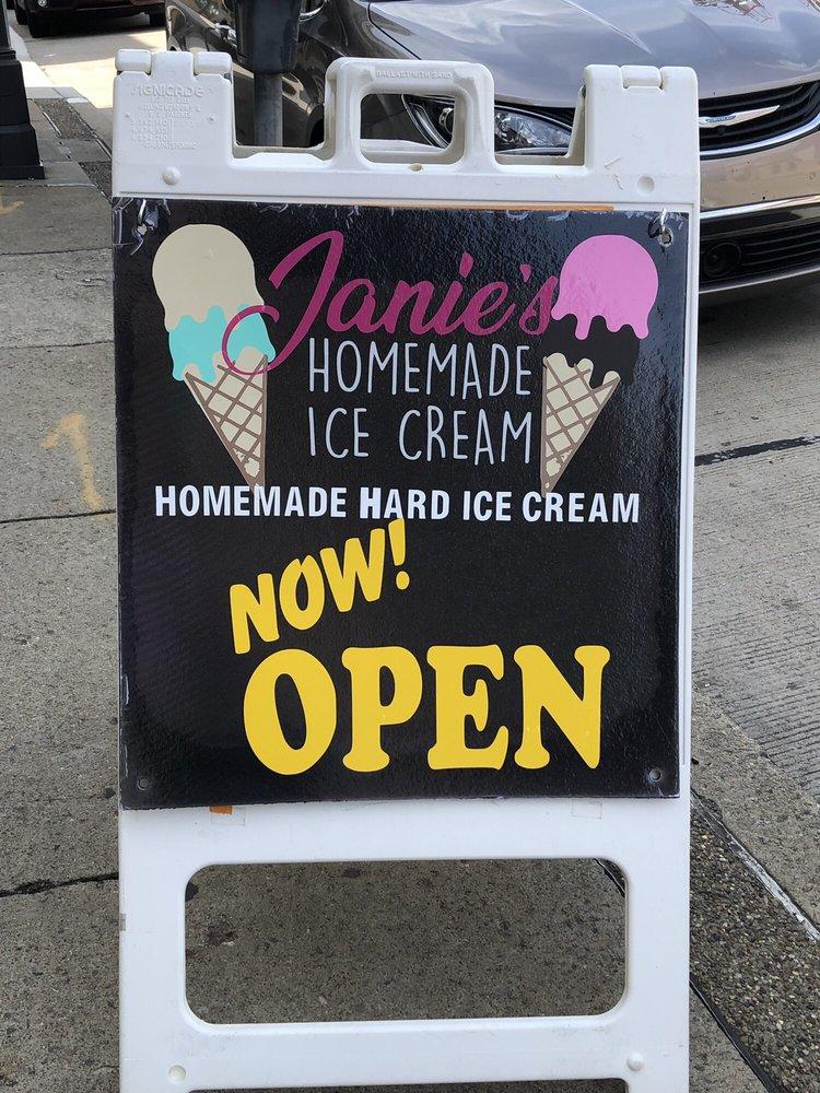 Janie's Homemade Ice Cream: 1020 5th Ave, Coraopolis, PA