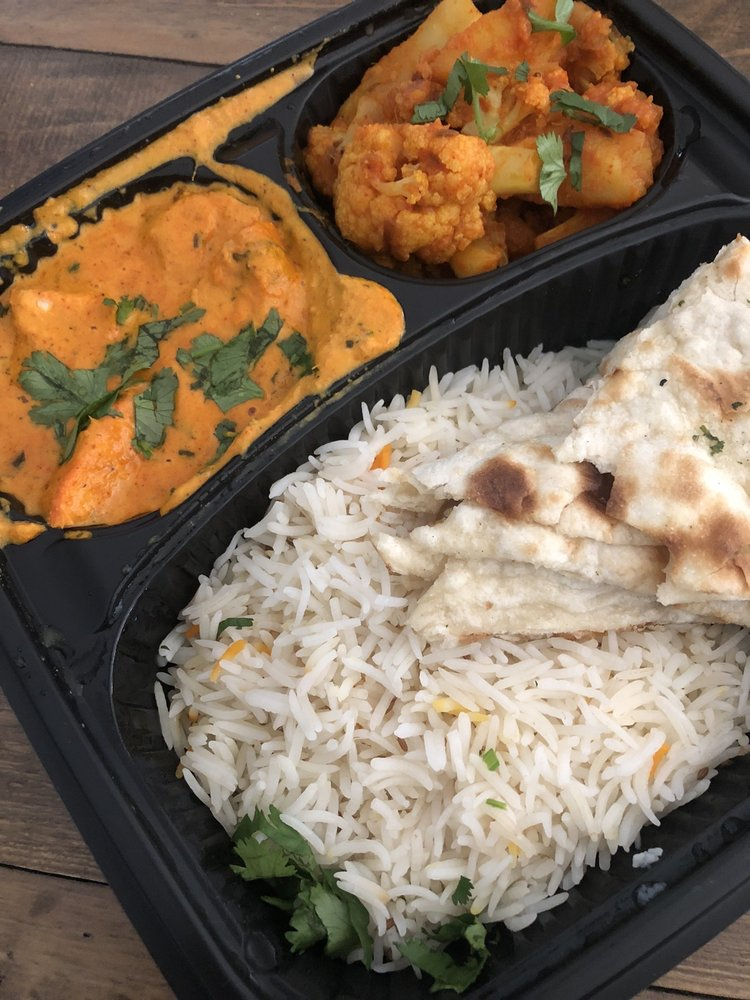Food from Tandav Indian Cuisine
