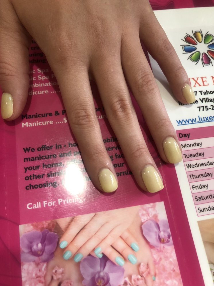 Luxe Nails: 907 Tahoe Blvd, Incline Village, NV