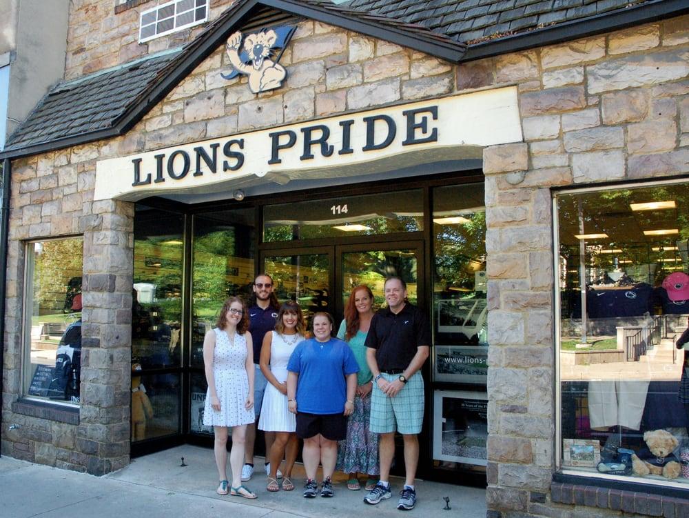 Lions Pride: 112 E College Ave, State College, PA
