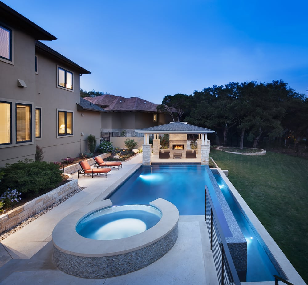 Austin water designs builders 17800 hamilton pool rd for Pool design hamilton