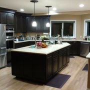 Before Picture Of Edu0027s Photo Of Cabinet Renovations   Renton, WA, United  States. Golden Oak Transformation To ...