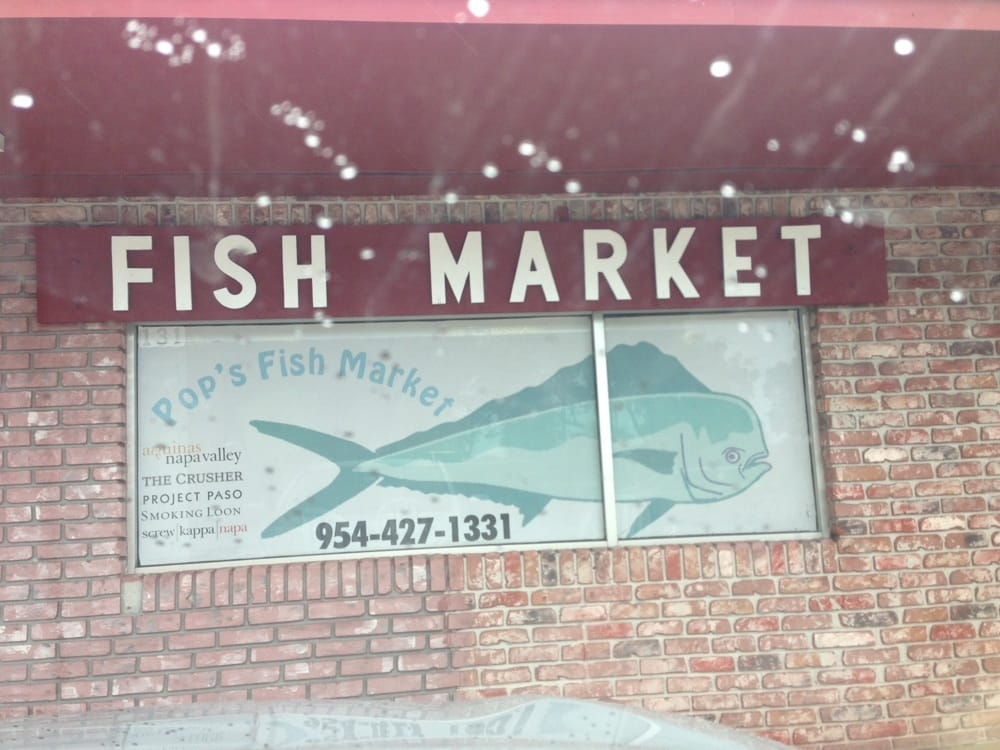 Fabulous selection of seafood yelp for Pops fish market