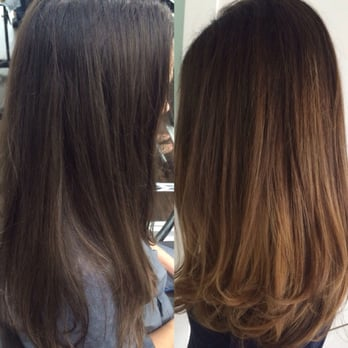 Photo of Balayage , Dallas , Dallas, TX, United States. Before and after