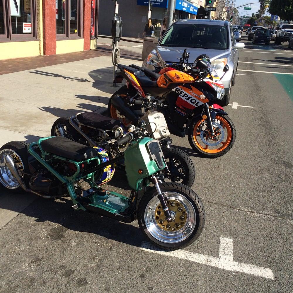 Honda Grom Build >> We Ride What We Build Honda Ruckus Honda Grom 125 Honda Cbr250r