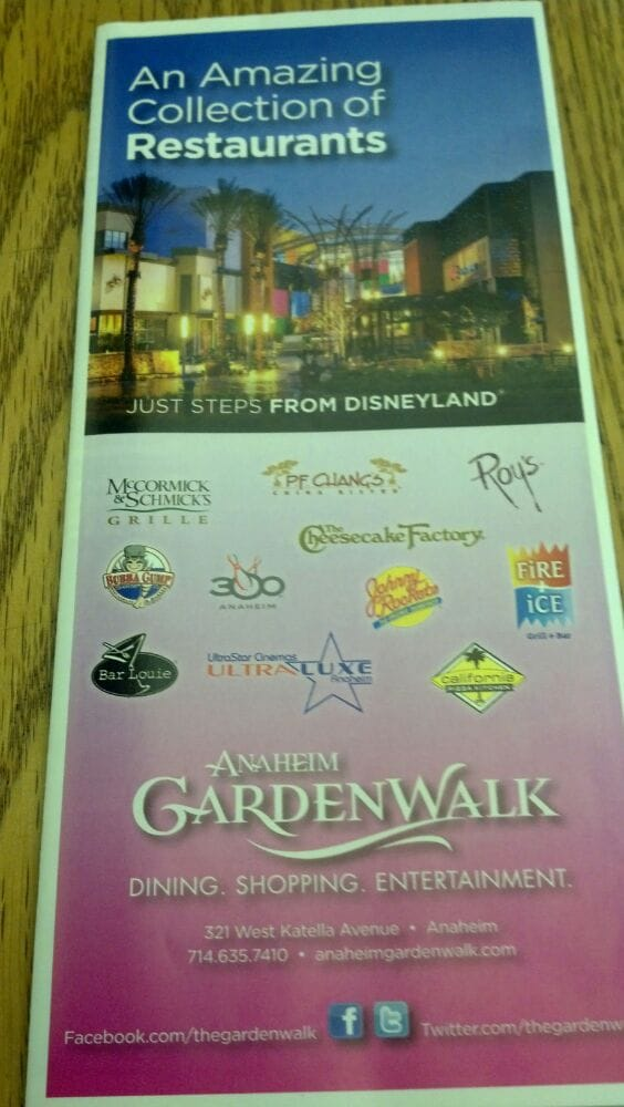 Gardenwalk Flyer Yelp