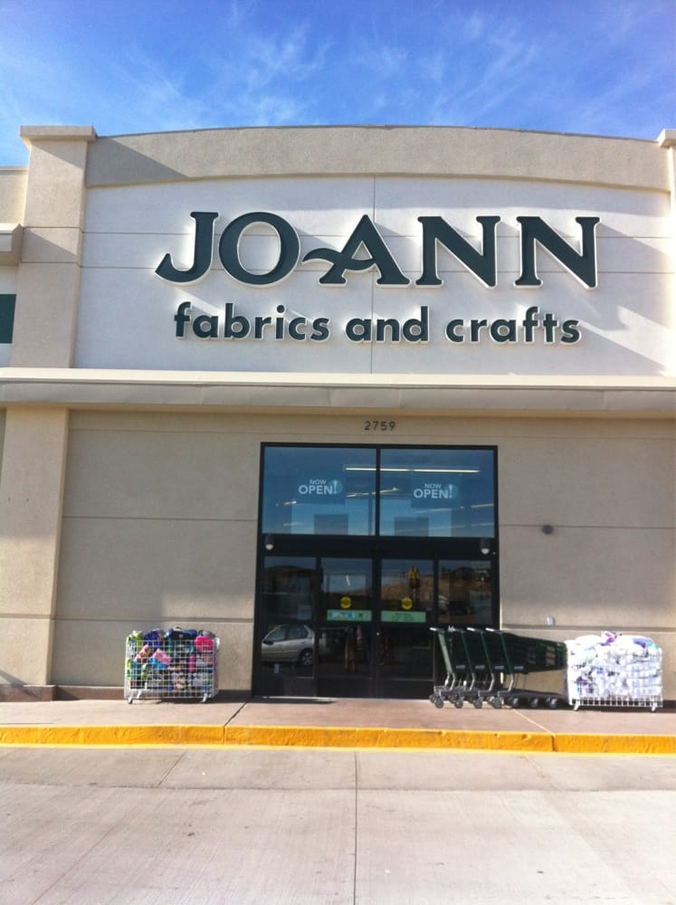 Jo ann fabrics and crafts fabric stores 2759 mountain for Joann craft store near me