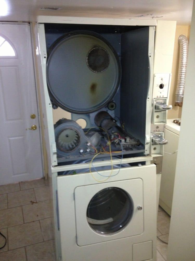 Dryer Repair Service : Commercial double dryer yelp