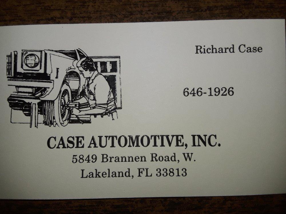Case Automotive: 5849 Brannen Rd W, Lakeland, FL