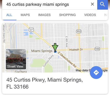 Miami Springs Florida Map.The Glam Cult 45 Curtiss Pkwy Miami Springs Fl Eyelashes Artificial