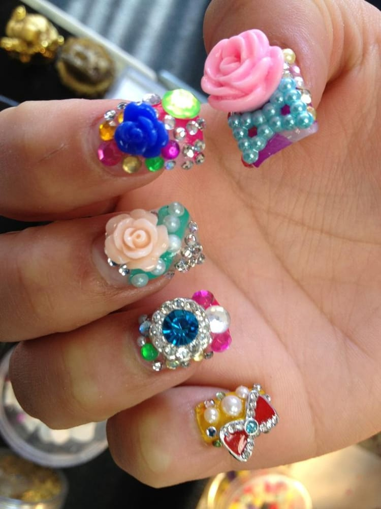 Japanese 3D Nail Art by by Sactown Nails and Sactown NAIL SPA - Yelp