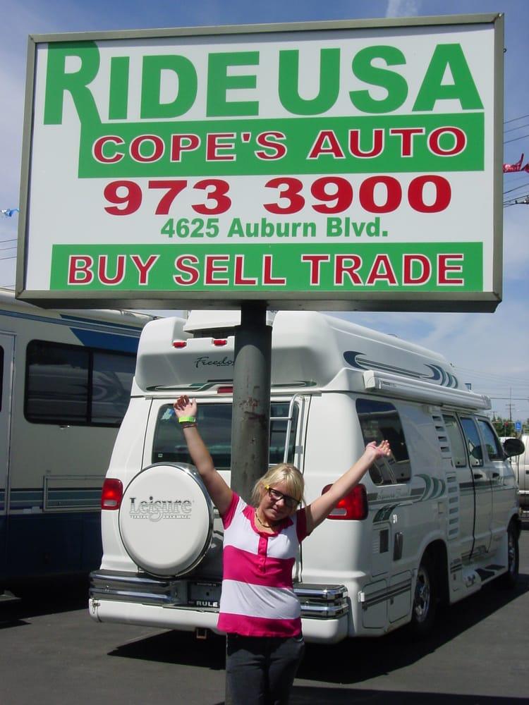 Ride USA Cope\'s Auto - CLOSED - Car Dealers - 4625 Auburn Blvd ...