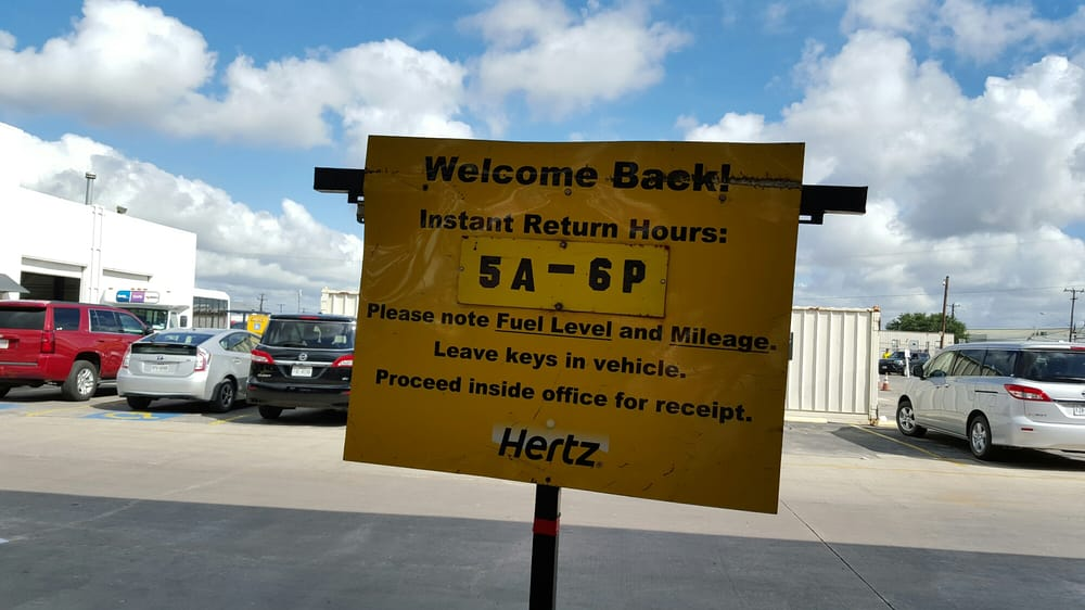 Hertz Rent A Car San Antonio Tx