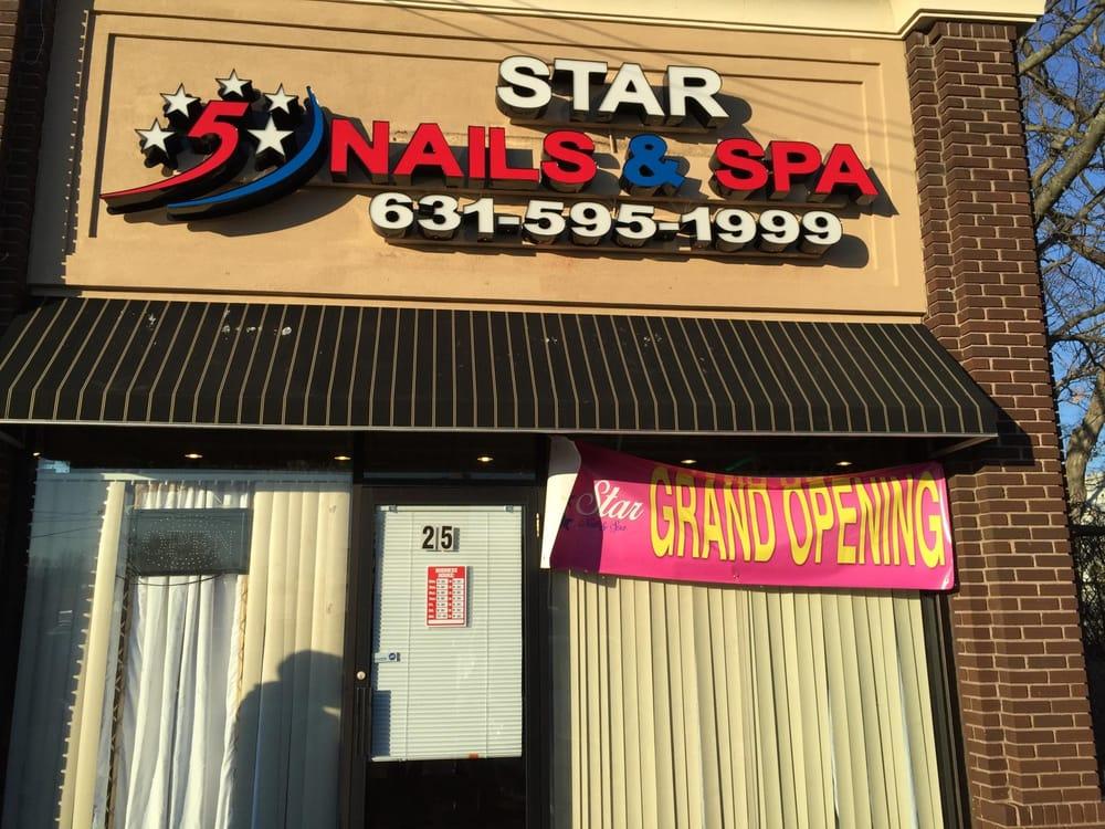 Entrance of 5 Star Nails & Spa - Yelp