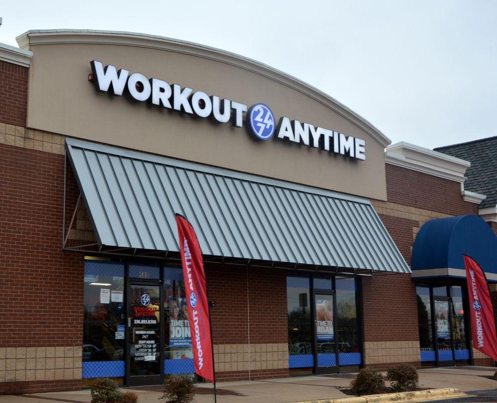 Workout Anytime Winston-Salem