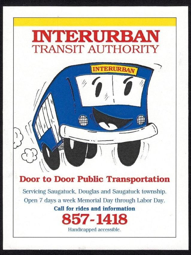 Interurban Transit Authority: 100 Wiley Rd, Douglas, MI