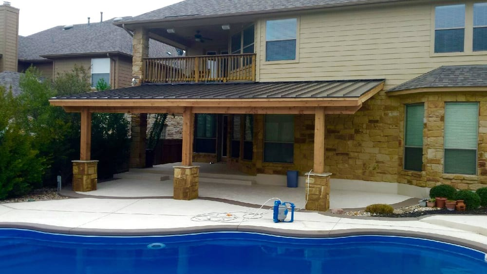 Etonnant Photo Of Capital Construction Services   Cedar Park, TX, United States. Cedar  Patio