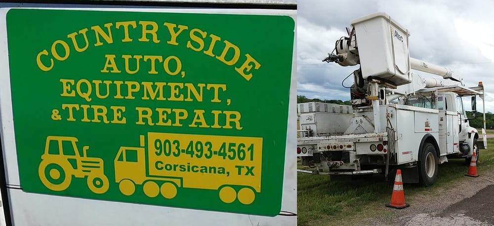 Countryside Auto & Equipment Repair: 1302 N Business 45, Corsicana, TX