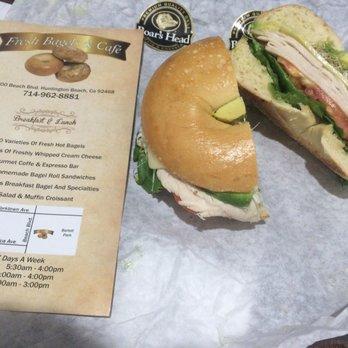 Fresh Bagels And Cafe Huntington Beach Ca