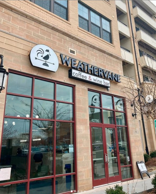 Weathervane Coffee & Wine Bar: 42795 Generation Dr, Ashburn, VA