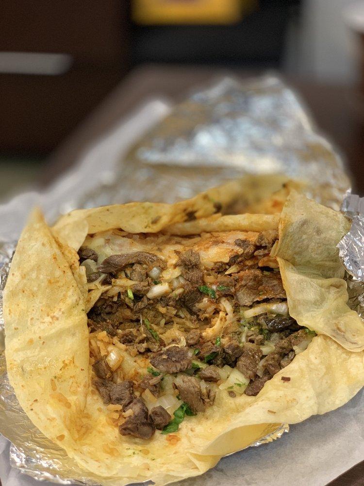 Food from Big Burrito Taqueria