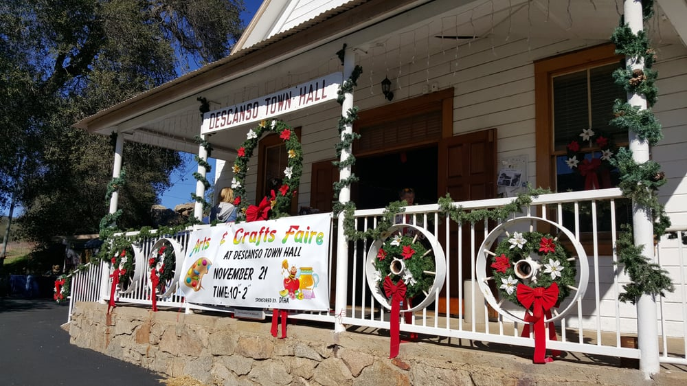 The Descanso Town Hall: 24536 Viejas Grade Rd, Descanso, CA