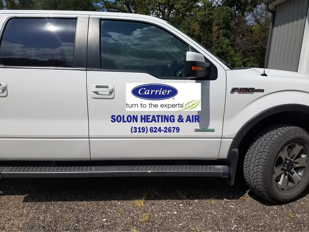 Solon Heating & Air Conditioning: 701 N Market St, Solon, IA