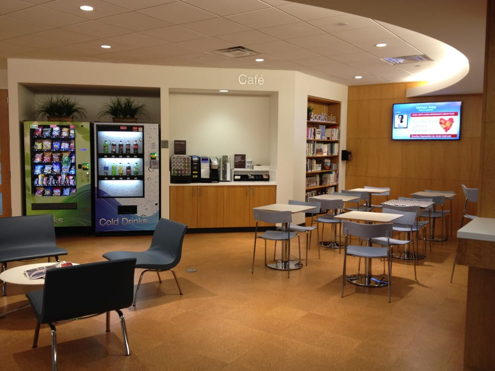 new self service caf features laptop plug in stations. Black Bedroom Furniture Sets. Home Design Ideas