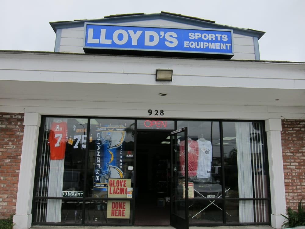 Lloyds Sporting Equipment & Team Apparel: 418 W Lincoln Ave, Orange, CA