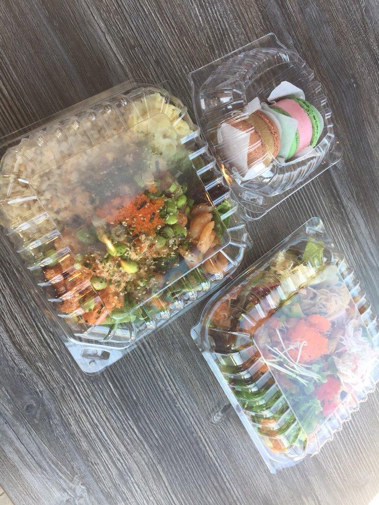 Food from Ahipoki Bowl