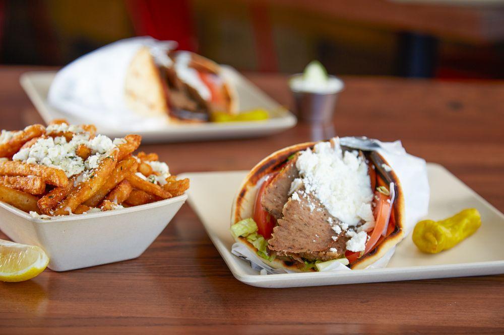 The Great Greek Mediterranean Grill: 7860 Main St, Maple Grove, MN