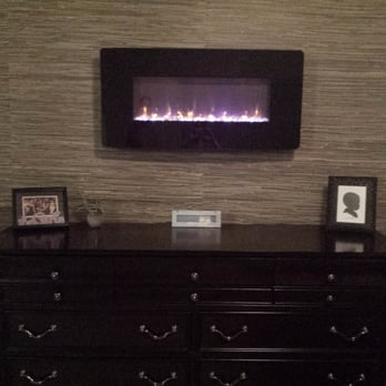 Photo of Wallpaper Company - Scottsdale, AZ, United States. Finished product with grasscloth